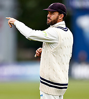 Kent captain Heino Kuhn directs during Kent CCC vs Sussex CCC, LV Insurance County Championship Group 3 Cricket at The Spitfire Ground on 14th July 2021