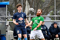 Hugo Delhommelle of the Wairarapa United during the Central League Football -  North Wellington FC v Wairarapa United at Alex Moore Park ( Alex Moore Artificial), Johnsonville, New Zealand on Saturday 29 May 2021.<br /> Copyright photo: Masanori Udagawa /  www.photosport.nz