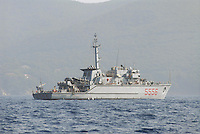 - Italian Navy, Alghero minesweeper, Lerici II class....- Marina militare italiana, cacciamine Alghero, classe Lerici II