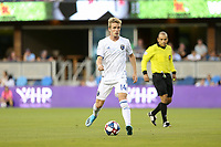 SAN JOSE, CA - JULY 27: Jackson Yueill during a Major League Soccer (MLS) match between the San Jose Earthquakes and the Colorado Rapids on July 27, 2019 at Avaya Stadium in San Jose, California.