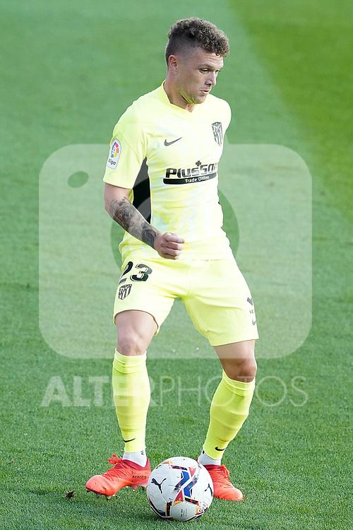 Atletico de Madrid's Kieran Trippier during La Liga match. September 30,2020. (ALTERPHOTOS/Acero)