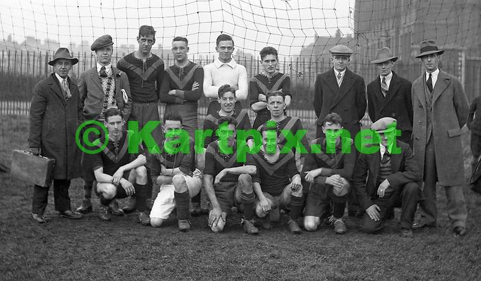 Dunlop Football Club 1930-31 team