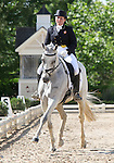 10 July 2009: Becky Holder riding Courageous Comet during the dressage phase of the CIC 3* Maui Jim Horse Trials at Lamplight Equestrian Center in Wayne, Illinois.