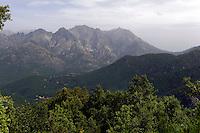 Gravona-Tal nahe Ajaccio, Korsika, Frankreich