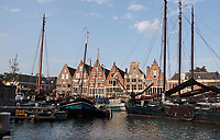 Nederland  Hoorn- September 2020 .  De Veermanskade.   Foto : ANP/ Hollandse Hoogte / Berlinda van Dam