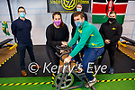Eamonn Sheehy and friends launch the fundraiser in Studio 7 Killarney on Saturday. The fundraiser is  for the Kenya Education project and will be held from December 14th to the 21st. Front: Eamon and Triona Sheehy.<br /> Back l to r: Michael Finnegan, Michael Lindsay and Aaron Morris