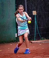 Hilversum, Netherlands, August 8, 2018, National Junior Championships, NJK, Fleur Sprengers (NED)<br /> Photo: Tennisimages/Henk Koster