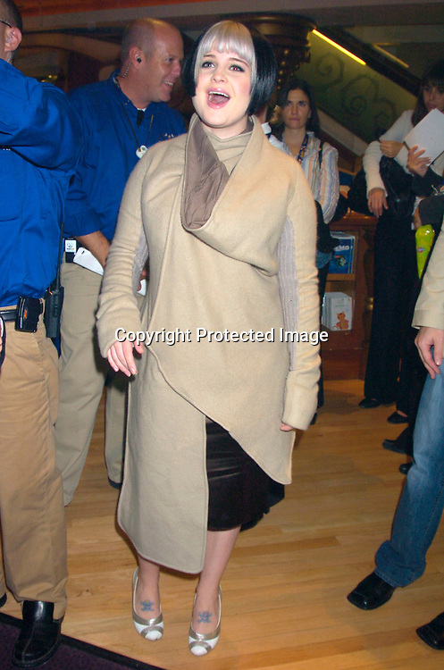 Kelly Osbourne..at the World of Disney Store opening on October 4, 2004 ..on Fifth Avenue in New York City. Photo by Robin Platzer, Twin Images