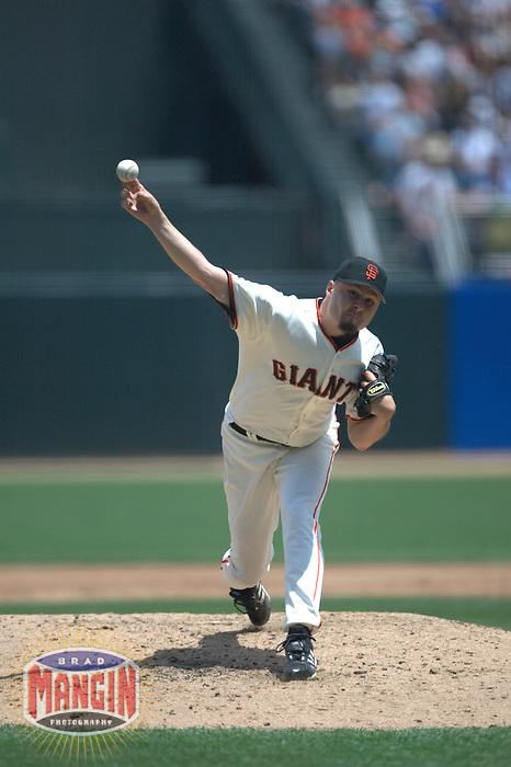 Jason Schmidt. Baseball: Colorado Rockies vs San Francisco Giants. San Francisco, CA 7/19/2003 MANDATORY CREDIT: Brad Mangin