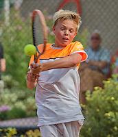 Netherlands, Dordrecht, August 03, 2015, Tennis,  National Junior Championships, NJK, TV Dash 35,      Liam Liles<br /> Photo: Tennisimages/Henk Koster