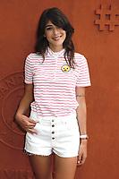 Sandrine Calvayrac -Célébrités a Roland Garros-2 juin 2017 -Paris Roland Garros