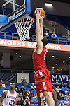 Seattle Redhawks center Louis Green (13) in action during the game between the Seattle Redhawks and the Texas Arlington Mavericks at the College Park Center arena in Arlington, Texas. Seattle defeats Arlington 61 to 44....