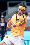 Spanish Rafa Nadal during Mutua Madrid Open 2018 at Caja Magica in Madrid, Spain. May 09, 2018. (ALTERPHOTOS/Borja B.Hojas)