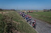 powering over the Holleweg cobbles<br /> <br /> 73rd Kuurne - Brussels - Kuurne 2021<br /> ME (1.Pro)<br /> 1 day race from Kuurne to Kuurne (BEL/197km)<br /> <br /> ©kramon