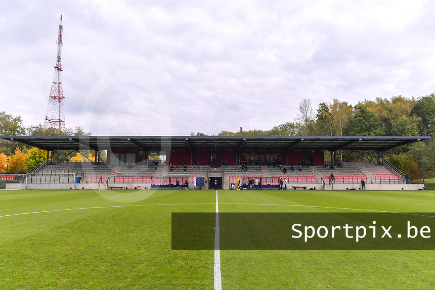 Académie Robert Louis-Dreyfus pictured during a female soccer game between Standard Femina de Liege and Dames SV Zulte Waregem on the fifth matchday of the 2020 - 2021 season of Belgian Scooore Womens Super League , saturday 17 th of October 2020  in Angleur , Belgium . PHOTO SPORTPIX.BE   SPP   STIJN AUDOOREN