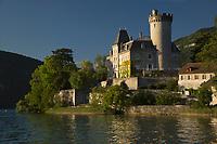 Europe/France/Rhône-Alpes/74/Haute-Savoie/Lac d'Annecy/Duingt: Le Château de Duingt, Château de Châteauvieux, Château de Ruphy, Château médiéval,  XI ème siècle, 11 ème siècle