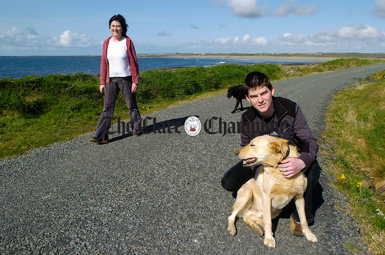Alan and Michelle Healy at home in Carrowmore North, Mullagh. Photograph by John Kelly.