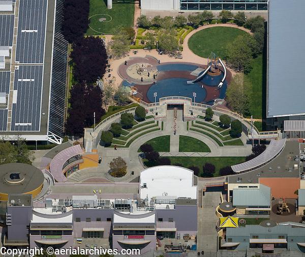 aerial photograph Moscone Center San Francisco, California
