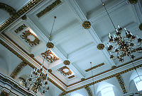 Sir Christopher Wren: St. Lawrence Jewry, London. Detail of ceiling.