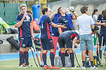 Mannheim, Germany, September 12: During the 1. Bundesliga men fieldhockey match between Mannheimer HC and Hamburger Polo Club on September 12, 2020 at Am Neckarkanal in Mannheim, Germany. Final score 2-0. (Copyright Dirk Markgraf / www.265-images.com) ***