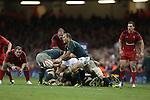 Springbok scrum half Fourie Du Preez.<br /> <br /> 2013 Dove Men Series<br /> Wales v South Africa<br /> Millennium Stadium<br /> 09.11.13<br /> ©Steve Pope-Sportingwales