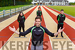 And there off Tim Long An Riocht Club Secretary who was delighted to welcome back athletes to the track after lock down restrictions were lifted on Monday l-r: Nicole Walker, Martin Dineen and John O'Connor
