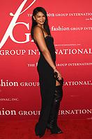 NEW YORK, NY - OCTOBER 13: Chanel Iman at the 2021 Fashion Group International Night Of Stars Gala at Casa Cipriani in New York City on October 13, 2021. Credit: John Palmer/MediaPunch