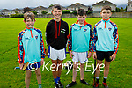 Attending the Tralee Parnells Cúl Camps on Monday, l to r: Philip Doyle, Luke Hanafin, Jayden Sugrue and Sean Sargent.