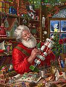 Liz,CHRISTMAS SANTA, SNOWMAN, WEIHNACHTSMÄNNER, SCHNEEMÄNNER, PAPÁ NOEL, MUÑECOS DE NIEVE, paintings+++++,USHCLD0251,#x#