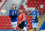 St Johnstone v Brechin….24.07.19      McDiarmid Park     Betfred Cup       <br />Michael O'Halloran applauds the fans as he is subbed<br />Picture by Graeme Hart. <br />Copyright Perthshire Picture Agency<br />Tel: 01738 623350  Mobile: 07990 594431