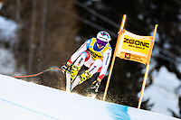 26th December 2020; Stelvio, Bormio, Italy; FIS World Cup Mens Downhill;   Urs Kryenbuehl of Switzerland during his 1st training run for the mens downhill race of FIS ski alpine world cup at the Stelvio
