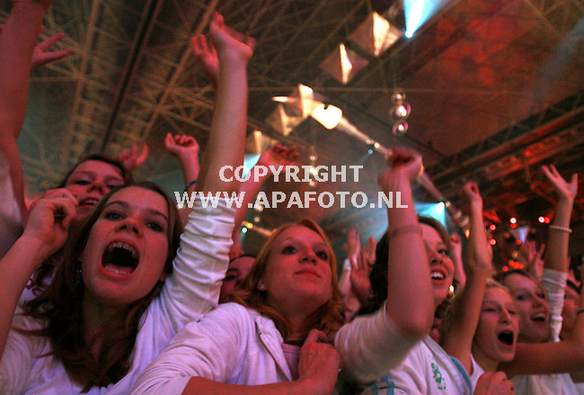 arnhem 251106 dance4 live in het gelredome<br />foto Frans Ypma APA-foto