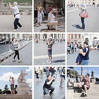 Photographers, Rome.