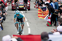 Miguel 'Superman' Angel Lopez (COL/Astana) up the Col de Marie Blanque (1st Cat)<br /> <br /> Stage 9 from Pau to Laruns (153km)<br /> <br /> 107th Tour de France 2020 (2.UWT)<br /> (the 'postponed edition' held in september)<br /> <br /> ©kramon