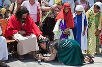 Guatemala, Semana Santa, Jesus Re-enactment