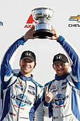 #37 LA Honda World Racing Honda Civic TCR, TCR: Tom O'Gorman, Mike LaMarra, podium