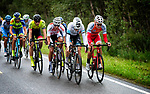 Salmon Jersey Anders Skaarseth Cofidis in action during Stage 2 of the 2018 Artic Race of Norway, running 195km from Tana to Kjøllefjord, Norway. 17th August 2018. <br /> <br /> Picture: ASO/Rune Dahl | Cyclefile<br /> All photos usage must carry mandatory copyright credit (© Cyclefile | ASO/Rune Dahl)