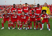 27 July 2010: Starting Eleven for Toronto FC during a CONCACAF Preliminary game between Club Deportivo Motagua and Toronto FC at BMO Field in Toronto..Toronto FC won 1-0....