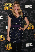 """LOS ANGELES, CA - JANUARY 07: Riki Lindhome arriving at the Los Angeles Screening Of IFC's """"The Spoils Of Babylon"""" held at the Directors Guild Of America on January 7, 2014 in Los Angeles, California. (Photo by Xavier Collin/Celebrity Monitor)"""