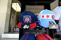 Bridgeview, IL - Saturday, April 08, 2017: The Chicago fire played the Columbus Crew in a Major League Soccer (MLS) game at Toyota Park.