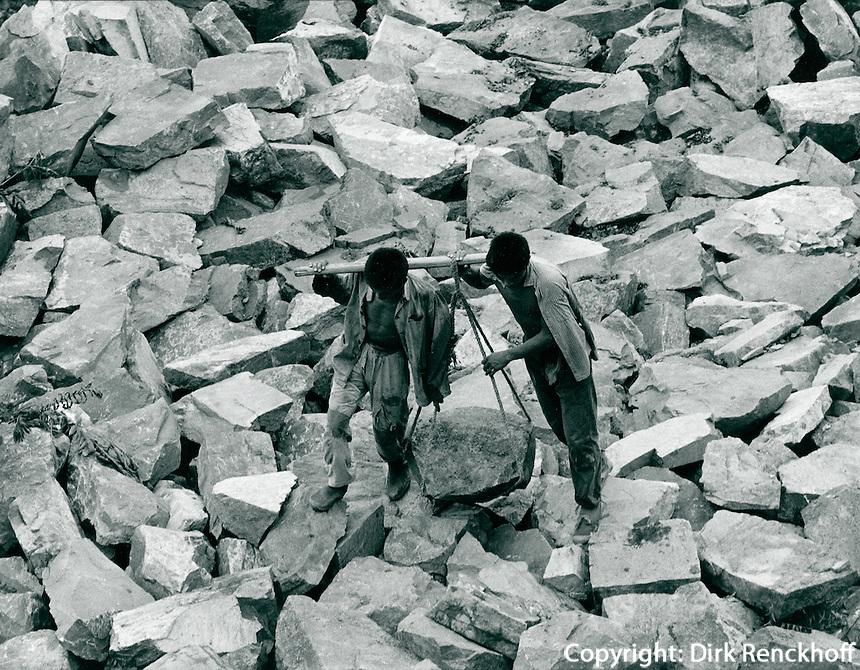 Arbeiter in China 1980