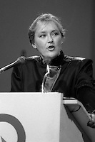 Pauline Marois, candidate, Parti Quebecois leadership race, September 27, 1985.