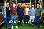 Enjoying the evening in Benners on Friday, l to r: Jack Gogardy, Kevin Sugrue, James McAuley, Mike Leen (Tralee), Damien McMahon and Mark Noonan.
