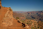 South Kaibab Trail descending Cedar Ridge, South Rim in Grand Canyon National Park, northern Arizona. . John offers private photo tours in Grand Canyon National Park and throughout Arizona, Utah and Colorado. Year-round.