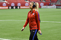 Vancouver, Canada - Thursday November 09, 2017: Julie Ertz during an International friendly match between the Women's National teams of the United States (USA) and Canada (CAN) at BC Place.