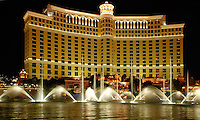 The Bellagio hotel and casino in Las Vegas, Nevada.