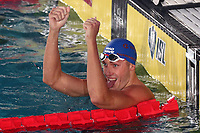 Sergey Shevtsov ENERGY STANDARD Winner Men's 100m Breaststroke<br /> Napoli 13-10-2019 Piscina Felice Scandone <br /> ISL International Swimming League <br /> Photo Cesare Purini/Deepbluemedia/Insidefoto