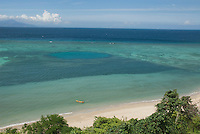 North coast of Timor-Leste (East Timor), east of Dili. Atauro Island is visible on the horizon.