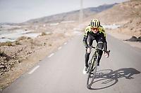 Jack Haig (AUS/Mitchelton-Scott) during the Mitchelton-Scott training camp in Almeria, Spain<br /> <br /> february 2019<br /> <br /> ©kramon