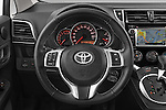 Car pictures of steering wheel view of a 2015 Toyota Verso-S skyview 5 Door Hatchback 2WD Steering Wheel